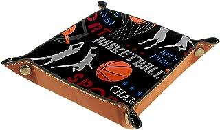 Vockgeng Tir de Basket Boîte de Rangement Panier Organisateur de Bureau Plateau décoratif approprié pour Bureau à Domicile...