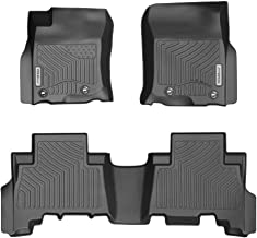 YITAMOTOR Floor Mats for Toyota 4Runner, Custom Fit Floor Liners for 2013-2020 Toyota 4Runner & 2014-2019 Lexus GX460, 1st & 2nd Row All Weather Protection