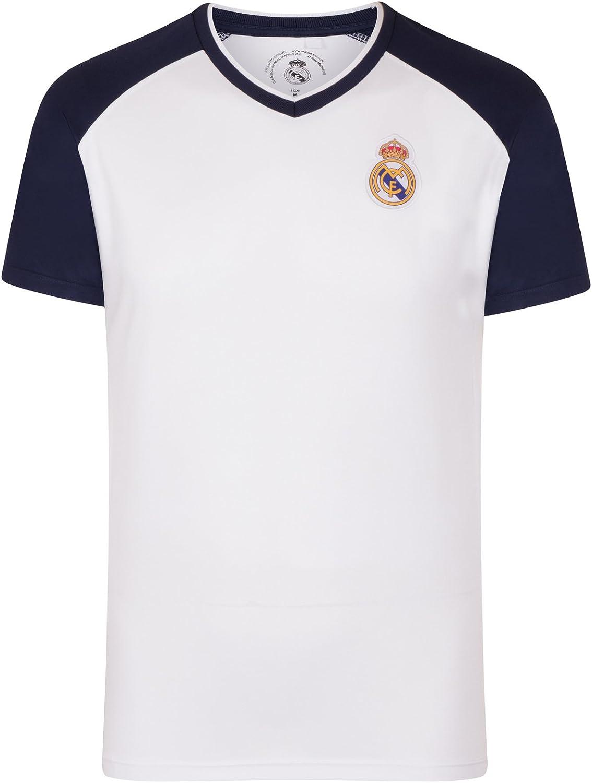 Real Madrid - Camiseta Oficial para Entrenamiento - para ...
