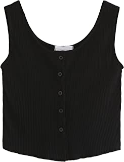 Best black knitted vest top Reviews