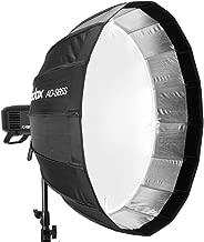 Godox AD-S65S 65cm Parabolic Deep Softbox Hexadecagon Quick Collapsible Umbrella Softbox for Godox AD400Pro Strobe Light Studio Photo Lighting