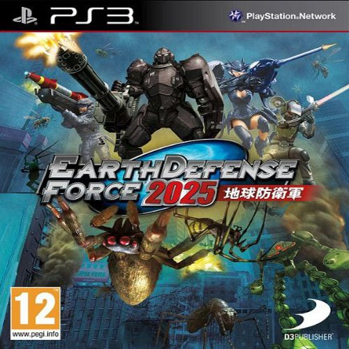 Earth Defense Force 2025 Sony Playstation 3 PS3 Game UK