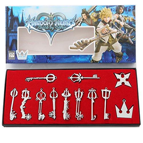 xcoser Kingdom Keys Hearts Keyblade…