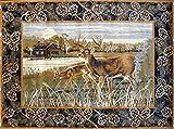 Pro Rugs Wildlife Nature Cabin Lodge Deer...