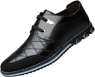HLIYY Chaussures pour Hommes, Chaussures De Sport à Face Souple, Chaussures en Cuir,Chaussures en Cuir De Nouveaux Hommes ...
