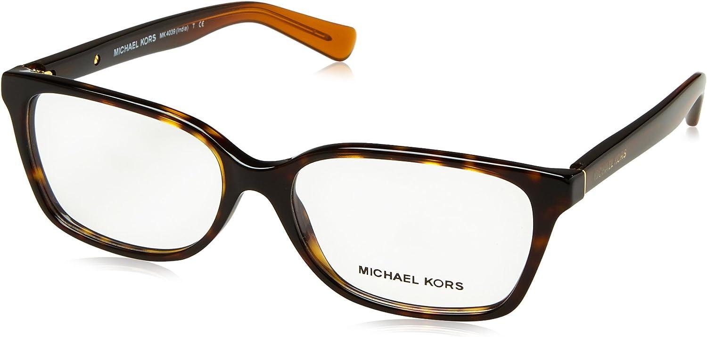 Michael Kors free shipping INDIA MK4039 Eyeglass Tortoise Dk Frames Selling rankings - 3217-54
