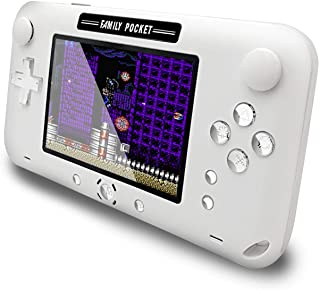 EASEGMER Handheld Games for Kids, Built-in 500 Retro FC Video Games - 4 Inch Portable Video Games Player Support TV/AV Out...