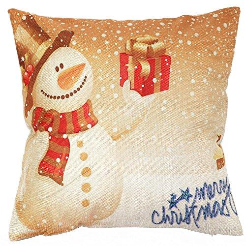 Vipwind decorativo copricuscini vintage Natale divano letto Home Decor federa cuscino