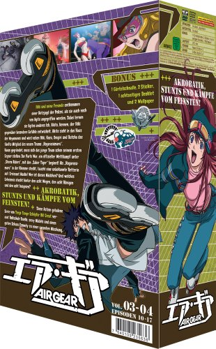 Air Gear - Vol. 2 (2 DVDs)
