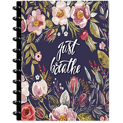 Tools4Wisdom Customizable 2021 Planner - Includes November 2020-2021 Calendar - Discbound Disc Planner 2021 w/Full-Color Refillable Daily Planner Pages - 8.5 x 11 Hard Cover - Q4Disc