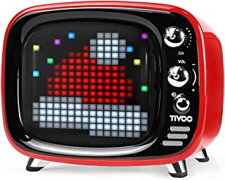 Divoom 840500101513 Pixel Art Speakers - Red (Pack of 1)