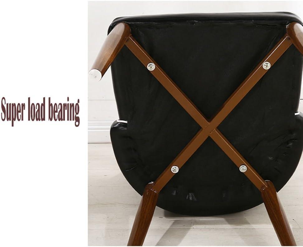 Président WGZ- Chaise à Manger Moderne Simple Dossier Ménager Tabouret Imitation Bois Café Hôtel Ordinateur Nail Chaise Simple (Color : B) D