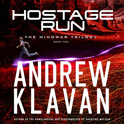 Hostage Run audiobook cover art