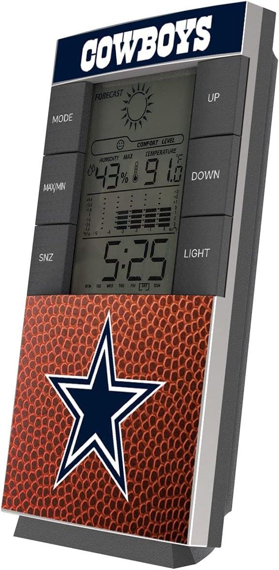 Max 73% OFF Strategic New product type Printing Dallas Cowboys Clock Digital Football Desk