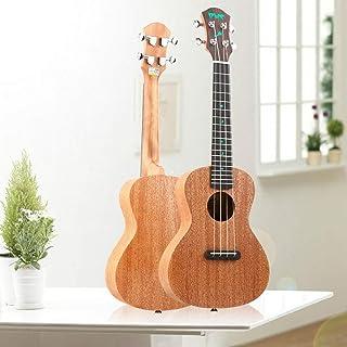 Yukri, Ukulele, Uklili, Cuarteto Hawaiano, Guitarra Pequeña, Instrumentos.Núcleo de melocotón claro de luna de 23 pulgadas.