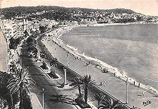 La Promenade des Anglais La Cote d'Azur France Postcard