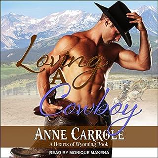 Loving a Cowboy audiobook cover art