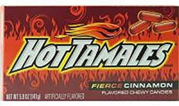 product image for Hot Tamales Fierce Cinnamon, 1 Count (SUGAR CANDY - THEATER SIZE)