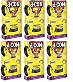 D-Con No View, No Touch Covered Mouse Trap, 6 Pack (2 Traps Each)