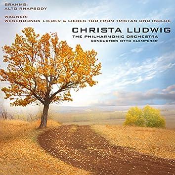 Brahms: Alto Rhapsody & Wagner: Wesendonck Lieder & Liebestod from Tristan Und Isolde