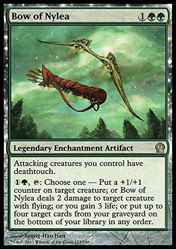 Magic The Gathering - Bow of Nylea (153/249) - Theros