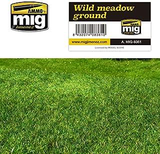 AMMO MIG-8361 Wild Meadow Ground Grass Mats, Multicolour