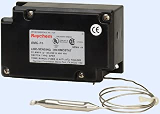 Raychem AMC-F5 Fixed Set Point Thermostat For Pipe Heat Trace Cable. 40F Fixed Set Point. 22 Amp at 125/25/480 VAC