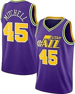Uniforme de Baloncesto Utah Jazz Snow Mountain para Hombre JAG Camiseta de Baloncesto Bojan Bogdanovic 44# Ropa de Entrenamiento sin Mangas Swingman de la NBA Talla Completa