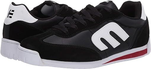 Black/Red/White