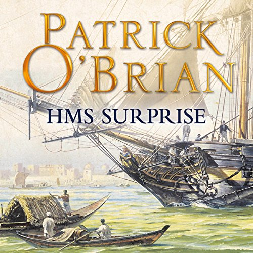 H.M.S. Surprise cover art