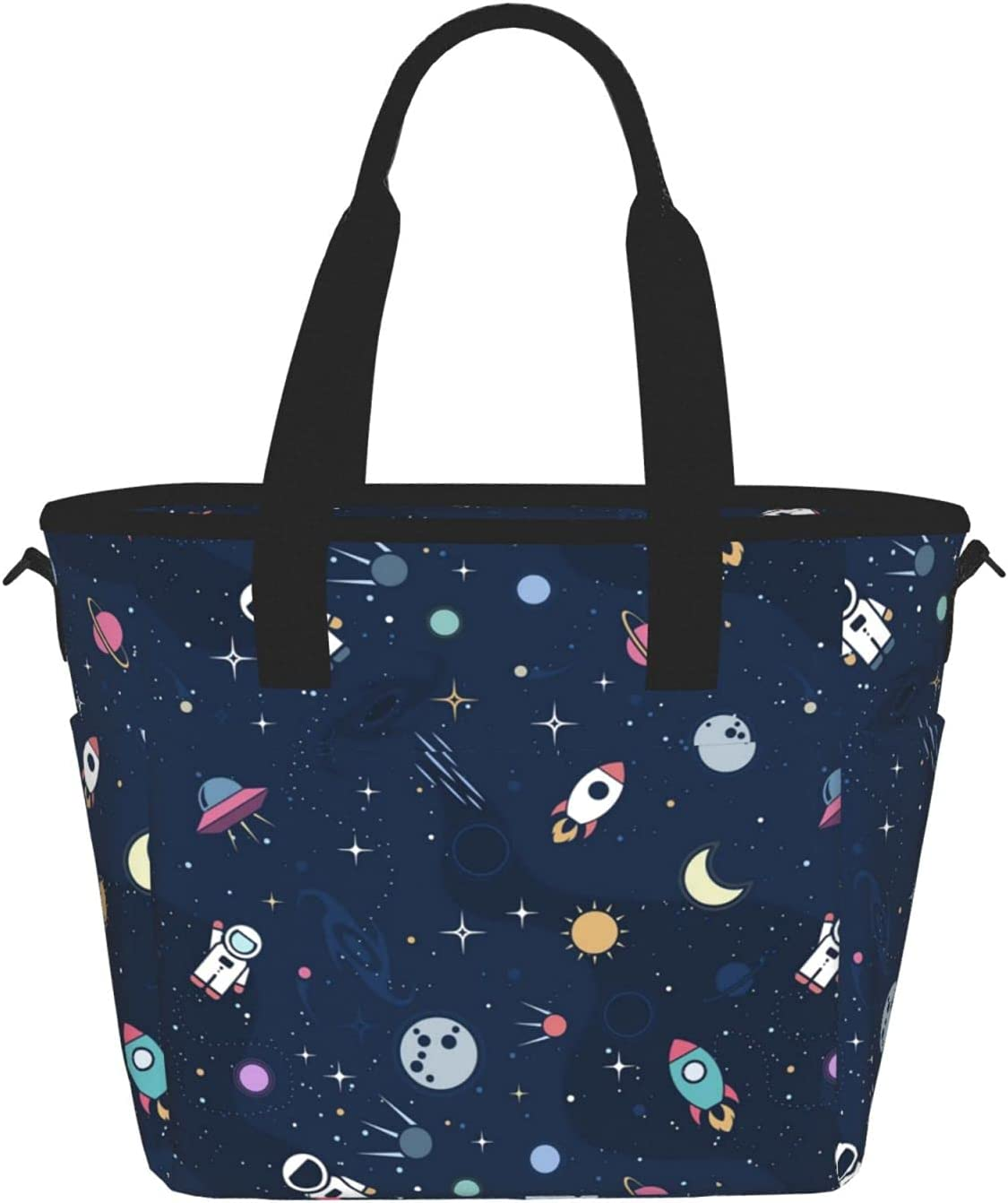 Cute online shopping Astronaut Reusable Insulated Tote Container Popular overseas Lunch Bag Food