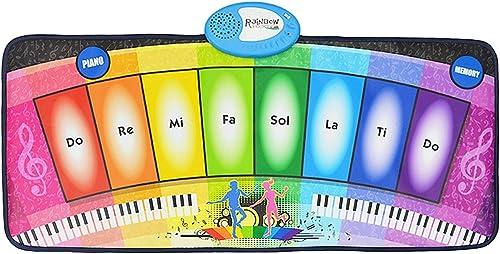 Hay más marcas de productos de alta calidad. Estera De Piano Piano Piano Electrónica para Niños, Almohadilla De Juegos De Música Electrónica Manta De Rastreo De Música Uso Multi-Persona De Apoyo  contador genuino