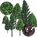 Immagine 2 bememo 22 pezzi alberi modello
