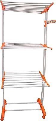 Savya Home Triple Row Extra Large Cloth Drier Stand