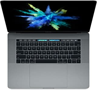 Apple MacBook Pro MLH42LL/A 15-inch Laptop with Touch Bar, 2.9GHz Quad-core Intel Core i7, 16GB Memory,1TB SSD, Retina Dis...