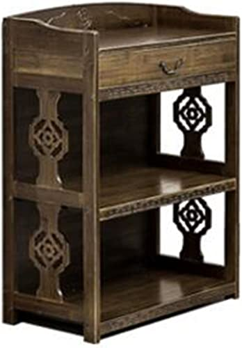 comprar ahora Biblioteca Sexy- Bambú Antiguo Armario Viejo \ Creativo Creativo Creativo con Cajón Rack \ Libre De Oficina Librería \ Sala De Estar Estantería (Color   2-Layer, Tamaño   42cm)  ventas calientes