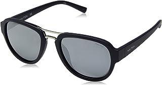 1c673b2b234b4 Óculos Nautica N3625Sp 420 Azul Naval Lente Polarizada Cinza Flash Tam 57