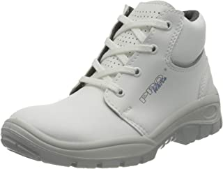 Ppo PP BPPOT205_37 Ppo White Safety Shoes, White, 37 Size
