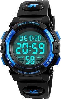 Kids Digital Watch, Boys Girls Sport Waterproof LED...