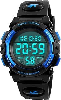 Kids Digital Watch,Boys Sports Waterproof Led Watches...