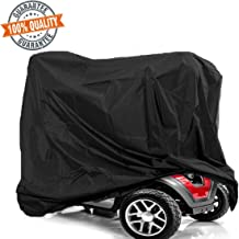 Mobility Scooter Storage Cover, 300D Oxford Fabric Wheelchair Weather Cover, Waterproof and Lightweight, Rain Protector from Dust Dirt Snow Rain Sun Rays - 67 x 24 x 46 inch (L x W x H)
