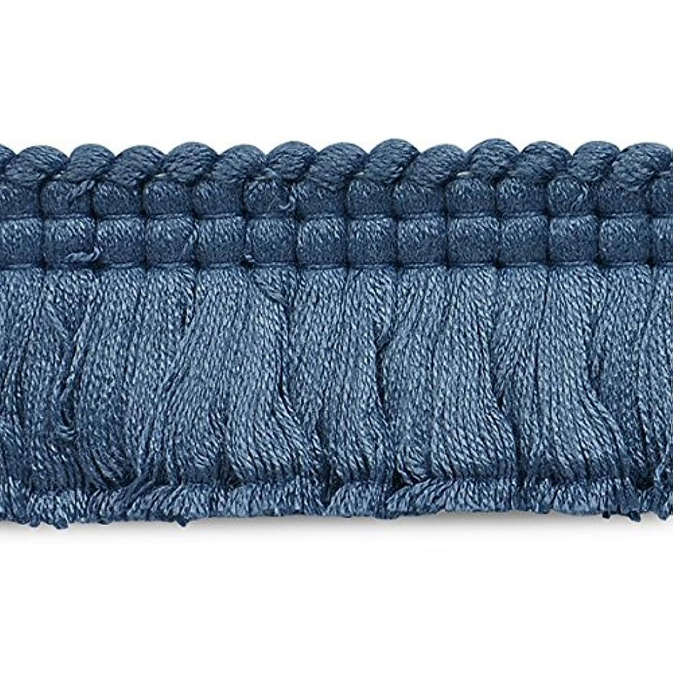 Expo CN021914M45-24 24 Yards of Conso Brush Fringe Trim Blue