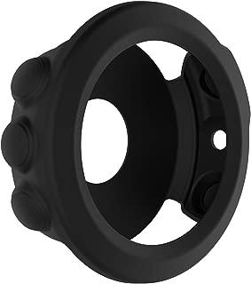 Xberstar Garmin Fenix 5X 保護カバー ケース シリコンカバー 保護ケース アクセサリー 8色あり (ブラック)