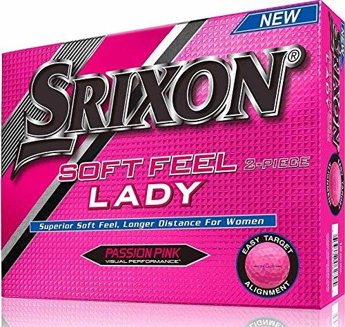 Srixon Damen SoftFeel Lady Golfbälle 2Lagen, Einheitsgröße Rosa