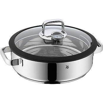 BRA Profesional - Set para cocinar al Vapor con Tapa, 24 cm, Acero ...