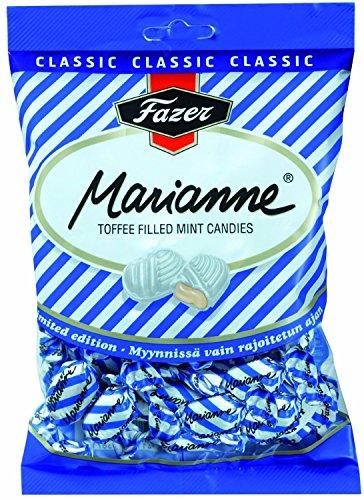 Fazer Marianne Toffee - Pfefferminzbonbons mit Toffeefüllung 220g