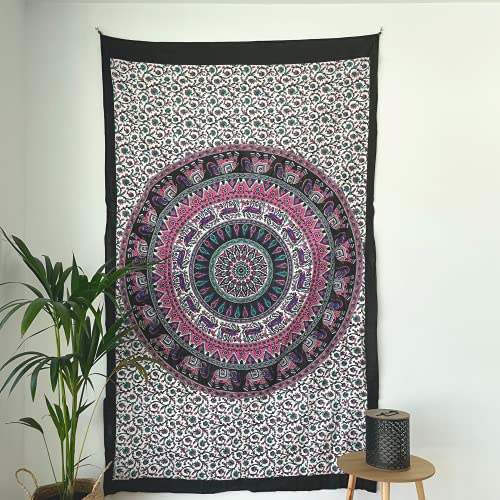 momomus Mandala Wandteppich - Ideal für...