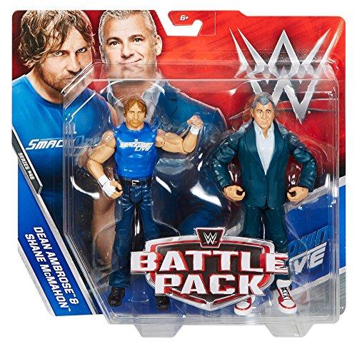 WWE – Battle Pack – Dean Ambrose & Shane McMahon – Bewegliche Actionfiguren 15cm