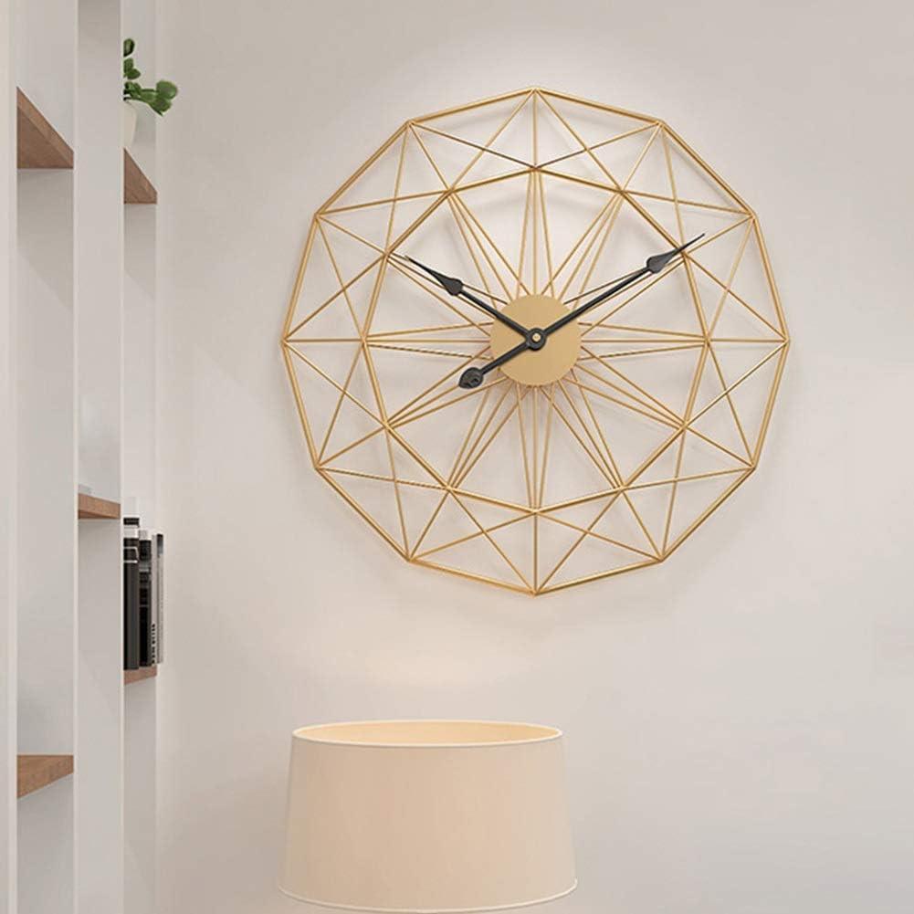 HJWL Creative Popular Silent Wall Clock Super sale Retro 3D Decorative Handmade Iro