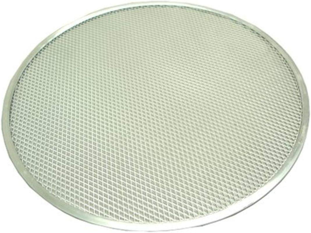 Winco Aluminum Winware 20-Inch Seamless Pizza Screen, 20 Inch